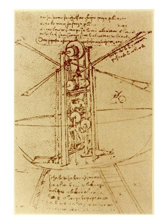 Σκίτσο μηχανής του ντα Βίντσι