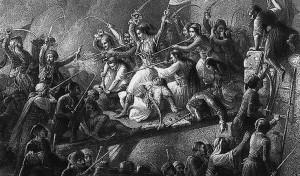 Θεόδωρος Βρυζάκης: Η έξοδος του Μεσολογγίου