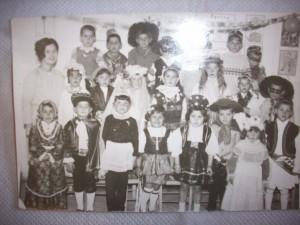 Γιορτή αποκριάς 1966