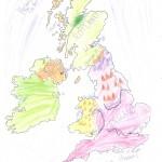 Χάρτης Αγγλίας Ελίνα 003