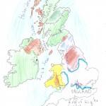 Χάρτης Αγγλίας Ελίνα 006