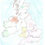 Χάρτης Αγγλίας Ελίνα 009