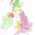 Χάρτης Αγγλίας Ελίνα 010