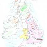 Χάρτης Αγγλίας Ελίνα 012