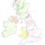 Χάρτης Αγγλίας Ελίνα 013