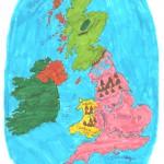 Χάρτης Αγγλίας Ελίνα 014