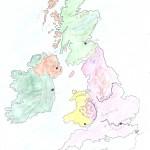 Χάρτης Αγγλίας Ελίνα 015