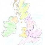 Χάρτης Αγγλίας Ελίνα 016