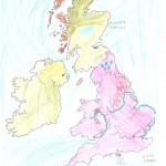 Χάρτης Αγγλίας Ελίνα 017