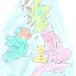 Χάρτης Αγγλίας Ελίνα 018