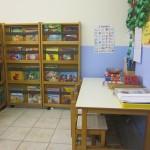 Γωνιά γραφής και βιβλιοθήκης