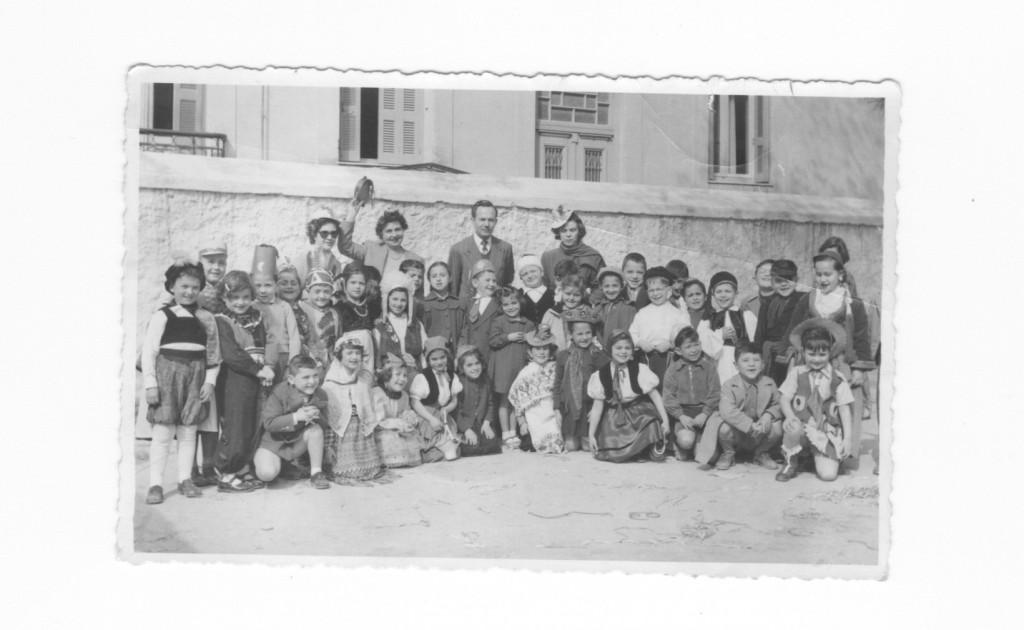 ΑΠΟΚΡΙΕΣ ΠΡΩΤΗ ΔΗΜΟΤΙΚΟΥ 1954 -ΦΑΡΟΣ