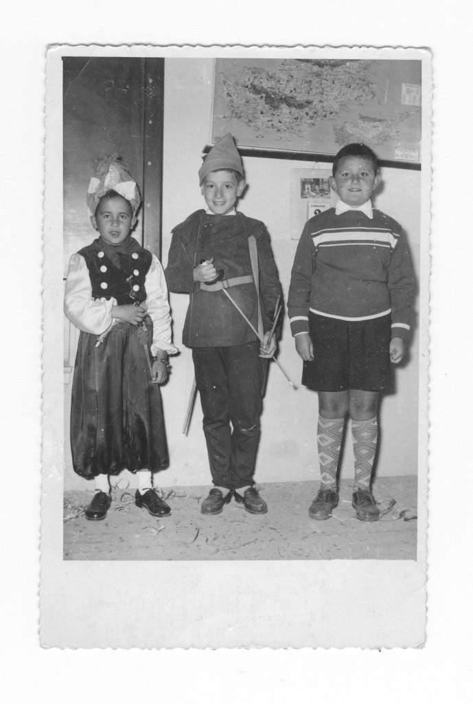 ΤΕΤΑΡΤΗ  ΔΗΜΟΤΙΚΟΥ -ΑΠΟΚΡΙΙΕΣ 1957-ΦΑΡΟΣ