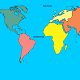 Παιχνίδι τοποθέτησης των ωκεανών στον παγκόσμιο χάρτη