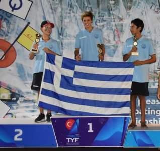Iakovos Dedes_Silver Medal_50th Balkan Championship-Opti 1