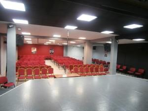 Η αίθουσα εκδηλώσεων