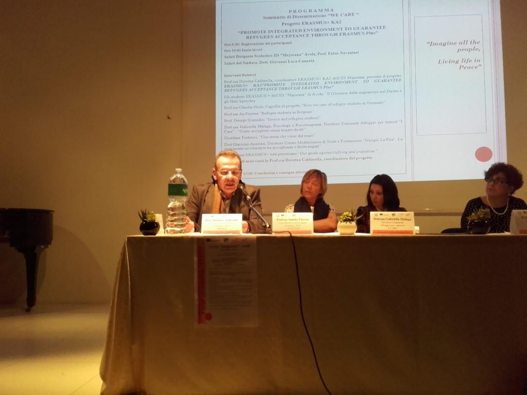 Παρουσίαση από τους καθηγητές της τρέχουσας κατάστασης του προσφυγικού ζητήματος στην Ελλάδα
