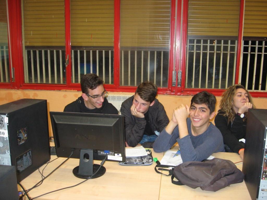 Στιγμιότυπο από τη συνεργασία μαθητών από Ελλάδα, Ιταλία και Γερμανία