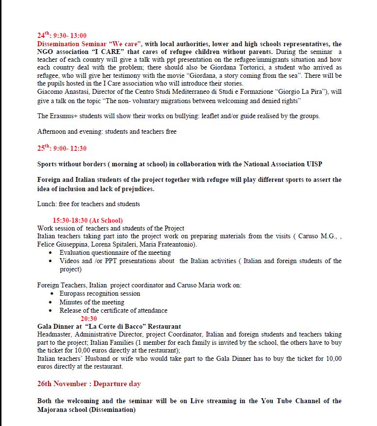 Programme 2 Avola