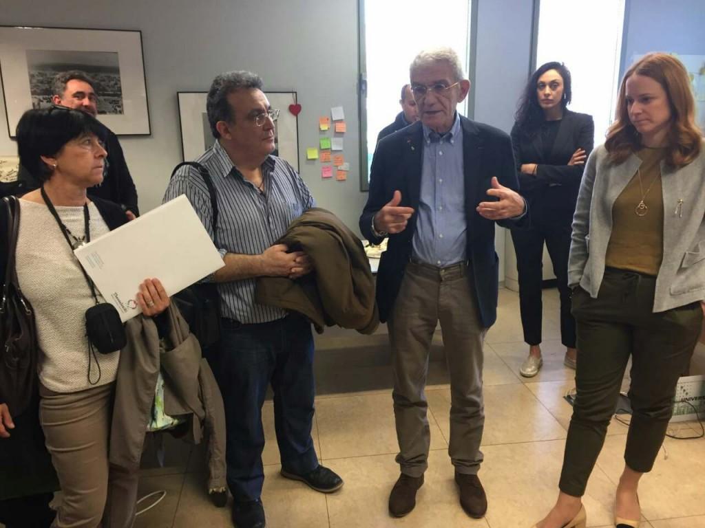 Συνάντηση με το Δήμαρχο Θεσσαλονίκης κο Ι. Μπουτάρη