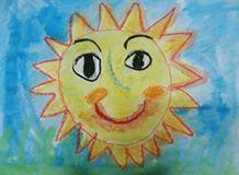 Ένας ήλιος με χαμόγελο!