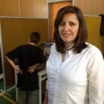 Η κ. Καραμανίδου Λίτσα