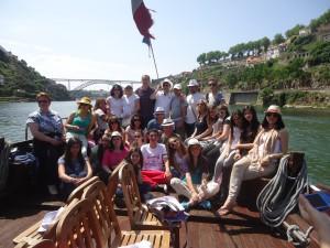 Διασχίζοντας τον ποταμό Durro  στο όμορφο Porto