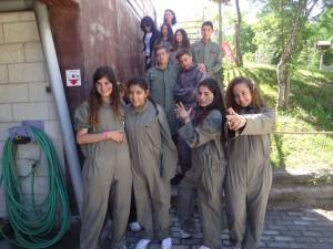 Οι έλληνες μαθητές λίγο πριν το Paintball