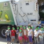 γνωρίζοντας το απορριμματοφόρο ανακύκλωσης