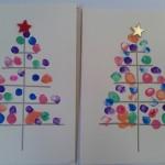 οι χριστουγεννιάτικες κάρτες μας