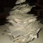 πρωτότυπο δέντρο από εφημερίδες