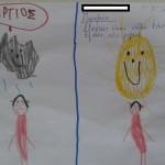 ζωγραφίσαμε την παροιμία που μας άρεσε για τον Μάρτιο και την Άνοιξη