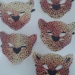 μάσκα λεοπάρδαλη