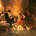Νικόλαος Γύζης-Το κρυφό σχολειό