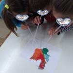 ζωγραφίζοντας με τον αέρα και ένα καλαμάκι
