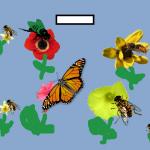 πεταλούδες και μέλισσες
