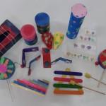 μουσικά όργανα από ανακυκλώσιμα υλικά