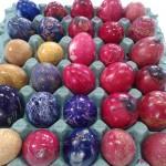 τα πασχαλινά αυγά μας!!!!!!!
