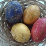 αυγά με γκλίτερ