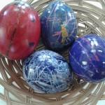 αυγά με κηρομπογιές