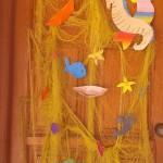 καλοκαιρινή διακόσμηση πόρτας