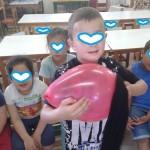 φορτίζοντας το μπαλόνι