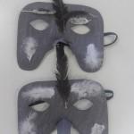 """οι μάσκες σπουργίτια για το τραγούδι """"Τσιριτρό"""""""