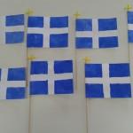 οι σημαίες μας!!!!!!!!