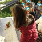 κατάθεση λουλουδιών