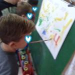 ζωγραφίζουμε χωρίς χέρια