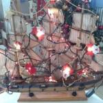 χριστουγεννιάτικο καραβάκι
