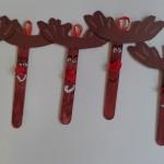 χριστουγεννιάτικα στολίδια με γλωσσοπίεστρα