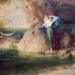 """""""Η Αλκυόνη αναζητά το σύζυγό της"""" έργο του Herbert James Draper"""