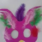 μάσκα παραδείσιο πουλί